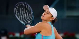 ashleigh barty retires injured in second round