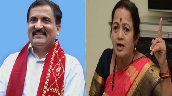 atul Bhatkhalkar slams mumbai mayor Kishori Pednekar The dog is honest