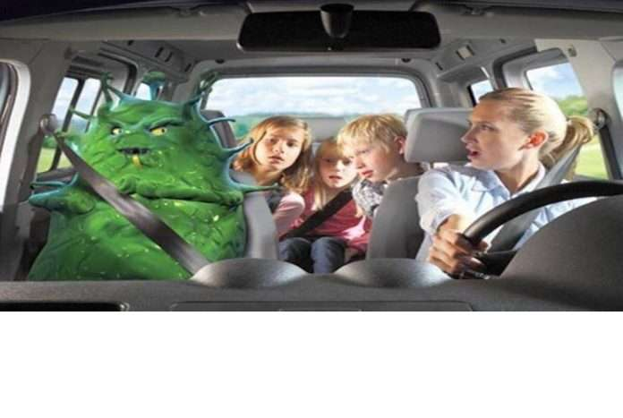 know how to prevent infection in car
