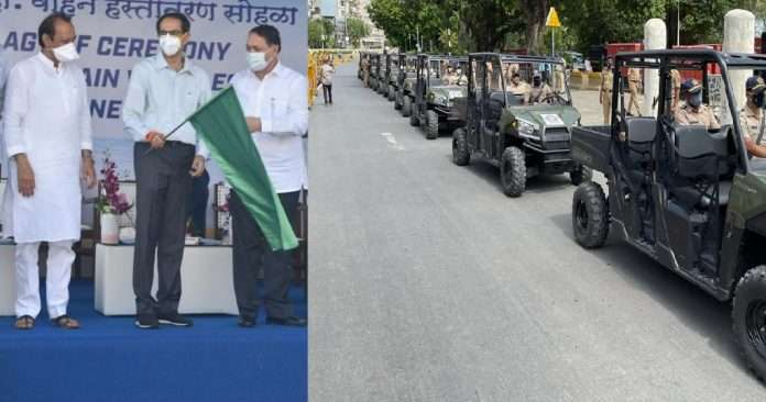mumbai police possible to give immediate help in case of emergency due to new compact vehicle in convoy