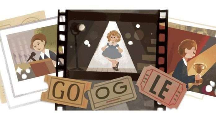 Google Doodle pays tribute to iconic child star Shirley Temple