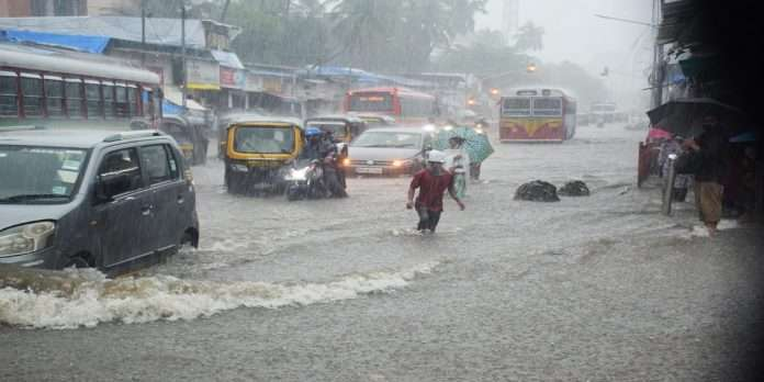 Mumbai Rain: highest rainfall of 214.44 mm was recorded in the eastern suburbs in 12 hours