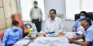 Jayant Patil instruct All agencies including inter-state agencies should coordinate for flood control of Gosikhurd project