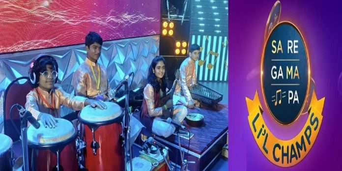 4 small musician friends will accompany Little Champs, small musician show their talent in Little Champs