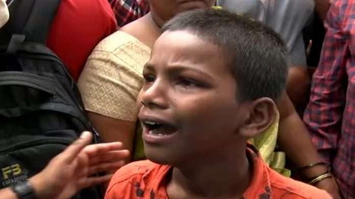 Pune Ambil Odha Where do we go now little boy question municipal administration pune