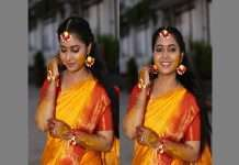 see beautiful photos of Sayali sanjeev haldi ceremony