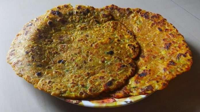 how to make dudhi bhopla Paratha