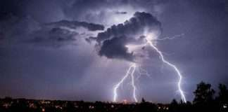 old man dies after being struck by lightning at diva