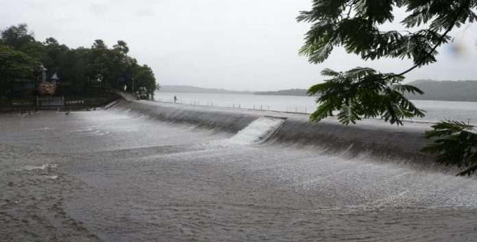 Increase in water level IN lakes supplying water to Mumbai, 48 days water storage in 7 lakes