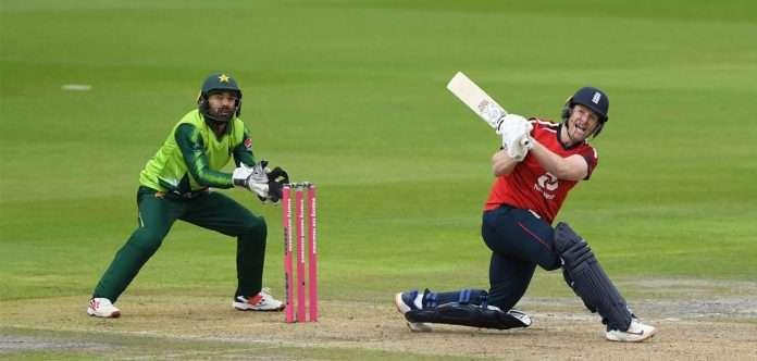 pakistan vs england eoin morgan
