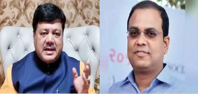 pravin darekar question will the Chief Minister investigate corruption against Sanjeev Jaiswal