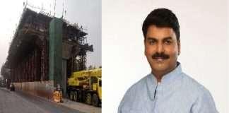 Rahul Shewale explaination on Ghatkopar Mankhurd link flyover clash not proposal for naming