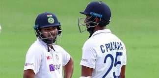 rishabh pant and cheteshwar pujara
