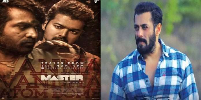 salman khan to announce soon that he will star in the remake of thalapathy vijays master