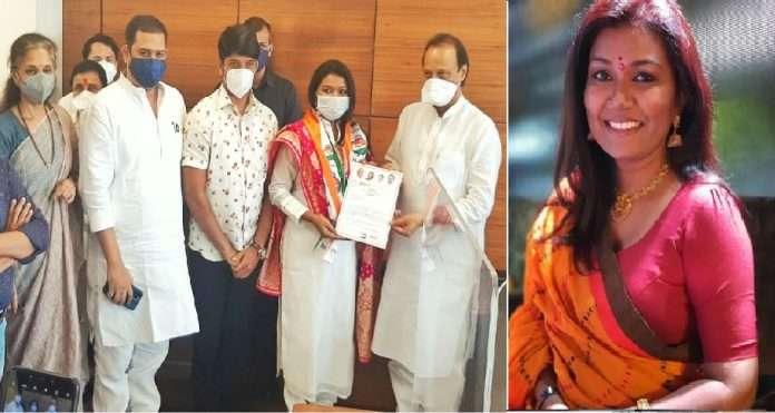 Bigg Boss fame famous singer Vaishali Made joins NCP