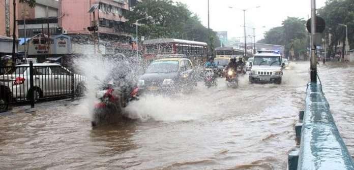 waterlogging mumbai hindmata