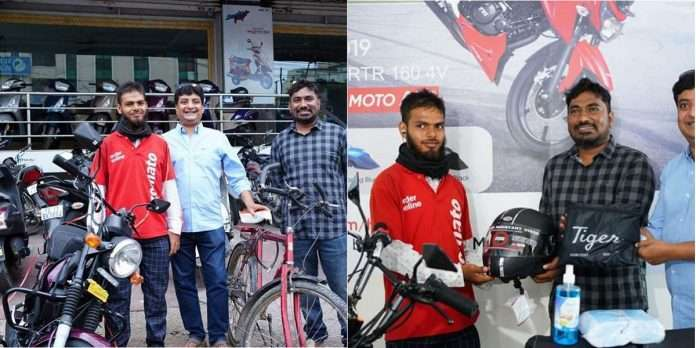 Delivering tea in 15 minutes, Zomato Boy won the lottery and received a prize of Rs 73,000