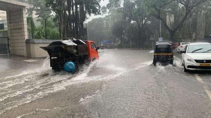 Monsoon Update Heavy rains continue in Mumbai, major areas of city waterlogged