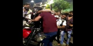 Two young men and a young woman was beaten by people in kalyan