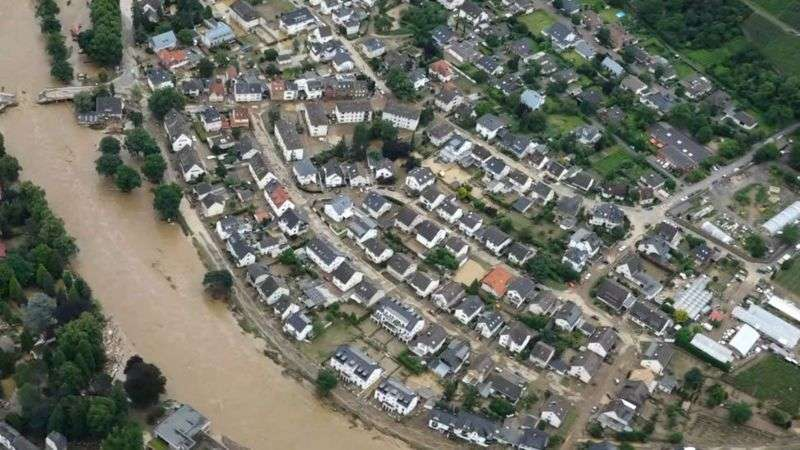 heaviest rainfall cause flooding in europe killed dozens many people missing in germany