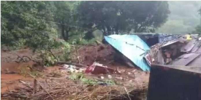 Satara Landslide: 4 houses collapsed due to Landslide in Satara Ambeghar village,12 people died