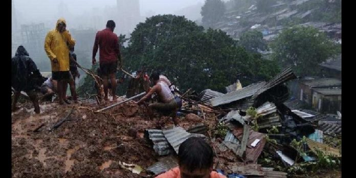 thane major accident in kalava 5 killed as houses collapse