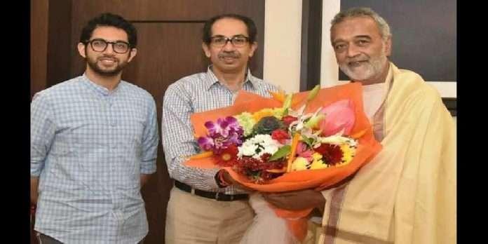bollywoods singer lucky ali meets chief minister of maharashtra uddhav thackeray and aaditya thackeray
