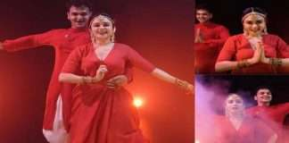 Amrita Khanvilkar and Ashish patil new dance performance on occasion of Ashadi Ekadashi