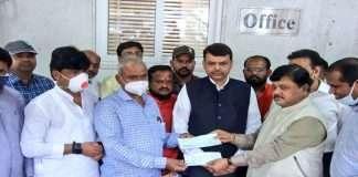 BJP Debt repayment Rs 20 lakh of Swapnil Lonakar's family