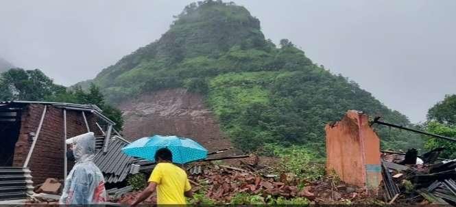 Talai village landslide