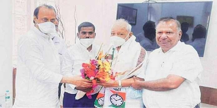 EX MLA Bapusaheb Gorthekar join the NCP again