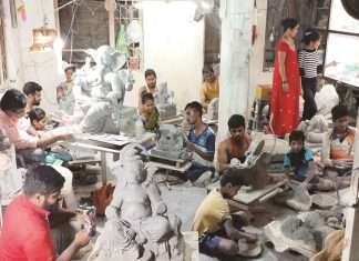 Ganpati manufacturers should be included in the compensation for natural calamities
