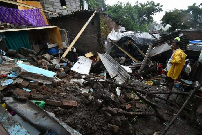 6184 landslide, wall collapse, building collapse incident in last 10 years in mumbai