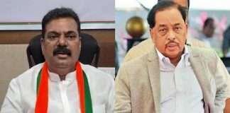 MP Narayan Rane and MP Kapil Patil