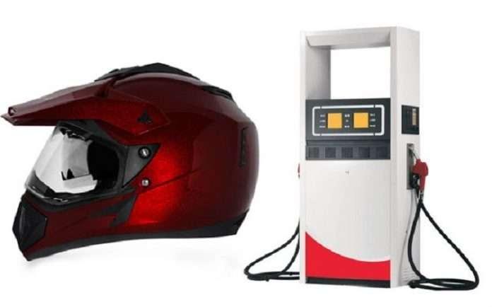 No Helmet No Petrol