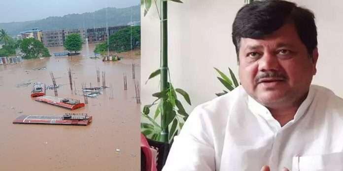Pravin darekar Slams Govt over kokan flood