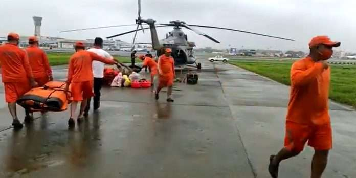 Rescue operation started at Mahad