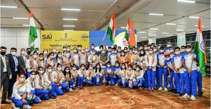 Indian athletes leave for Olympics, first batch arrives in Tokyo