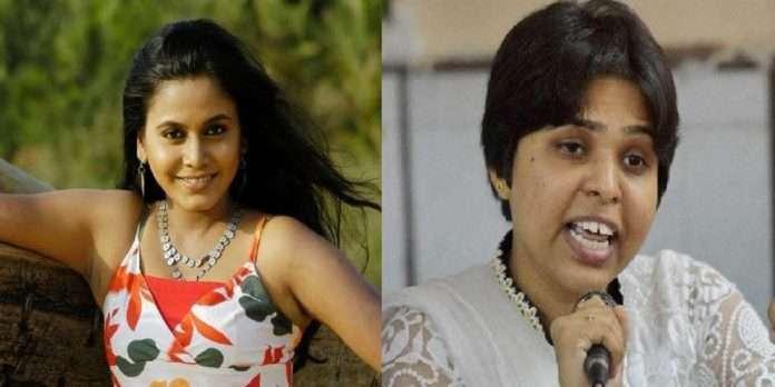 Trupti Desai question to Actress Hemangi kavi bra and women post