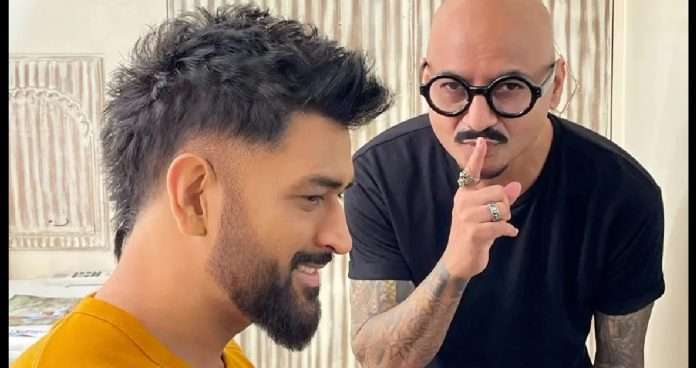 MS Dhoni sports new look Hairstylist unveils new look for Captain Cool