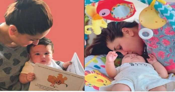 kareena kapoor unseen photos with son jeh and taimur leaked viral