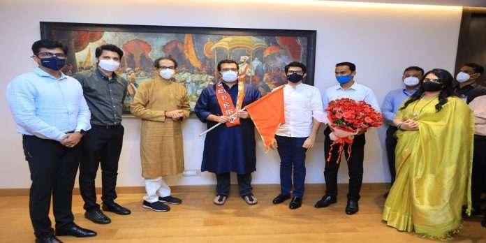 Aditya Shirodkar joins Shiv Sena
