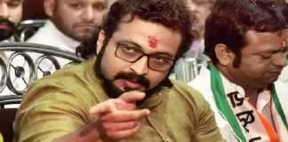 Shiv Sena's reaction to Amol Kolhe's statement that NCP is in power due to Shiv Sena's cooperation