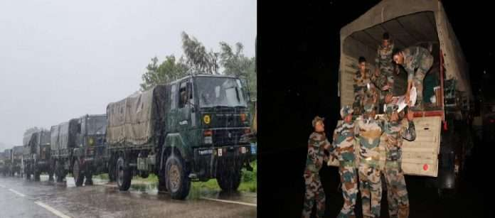 Centre's focus on flood situation in the state, 26 teams of NDRF, 4 helicopters, army deployed
