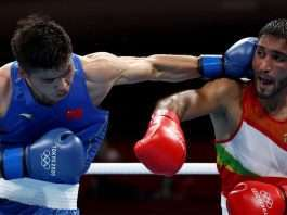 ashish kumar loses in first round