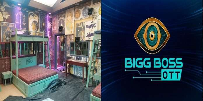 The photo of Bigg Boss house going viral, the color of the house is based on the zodiac sign