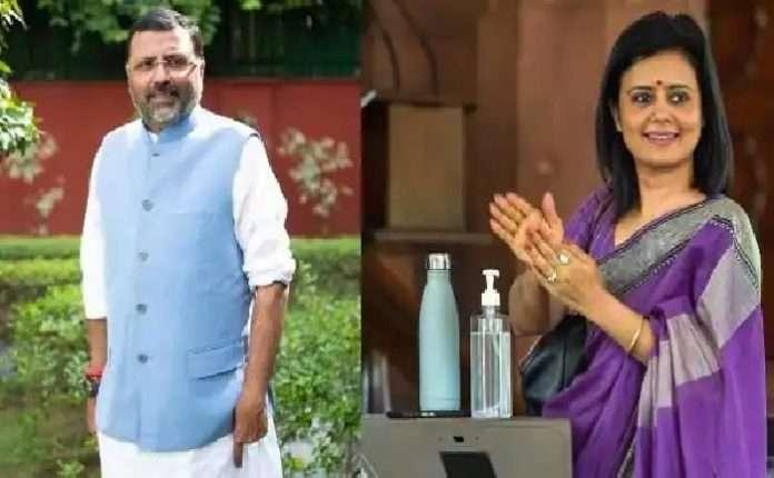 bjp mp nishikant dubey allegations against Mahua Moinna called a Bihari Gunda three times