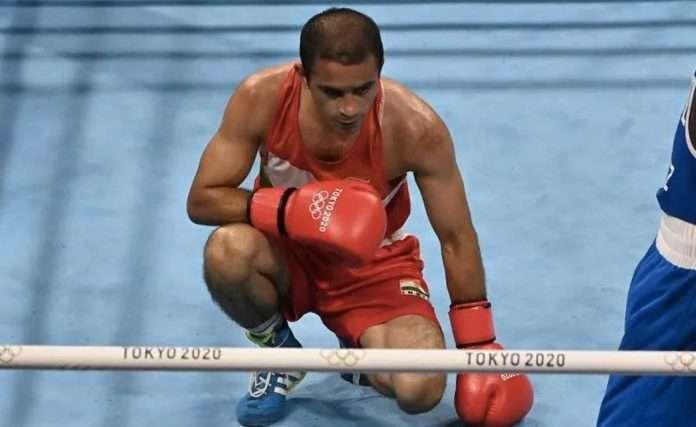 boxer amit panghal loses