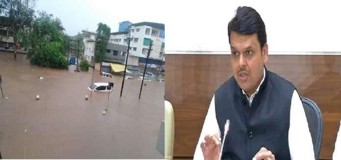 devendra fadnavis demand provide immediate help to konkan flood effected people