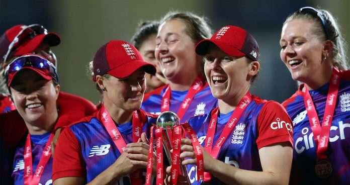 england women win t20 series